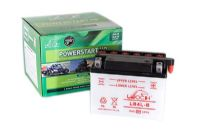 Leoch YB4LB - Dry Charged Motorcycle Battery + Acid Pack
